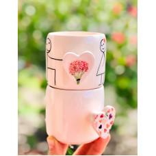 Heart Handle Mug - 270621-06