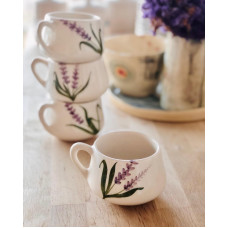 Lavender Tea Cup - FN210313-2