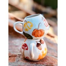 Fall Tea Cup - 041021-14