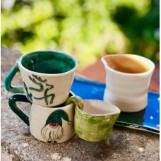 Gnome/Deer Tea Cup Set - N-19FNYLB003