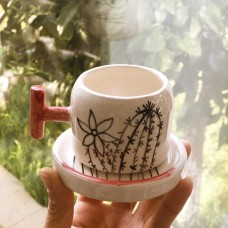 Cactus Series Coffee Cup - KF-19FNKKT001