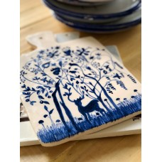 Deer Patterned Cutting Plate - SR-19SRYLB032