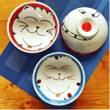 Cat Patterned Bowl - KS-19KSHYV001