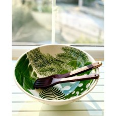 Leaf Patterned Bowl - KS-19KSTRP005