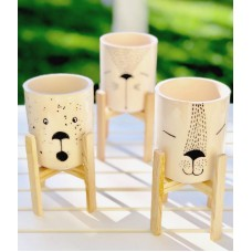 Cat Patterned Pot Set - SK-19SKSB001