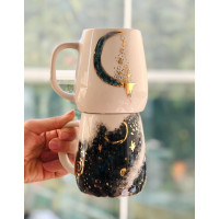 Gold Milky Way Mug - 020221-06