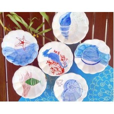 Marine Series Tea Coaster Set - CT-19CTMRN006