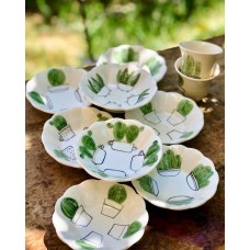 Cactus Series Tea Coaster Set - CT-19CTTRP009