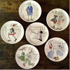 Rabbit Patterned Plate Set - TB-19TBHYV057